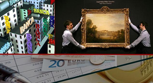 Perché le banche non fanno la concorrenza a fondazioni e alle case d'asta sul mercato dei dipinti del 900?
