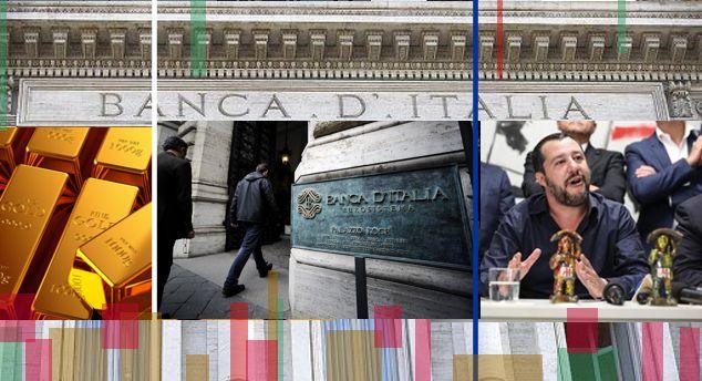 Oro Bankitalia: solo la Lega vuole che lo Stato se ne riappropri. Intanto sembrano spariti 43 miliardi